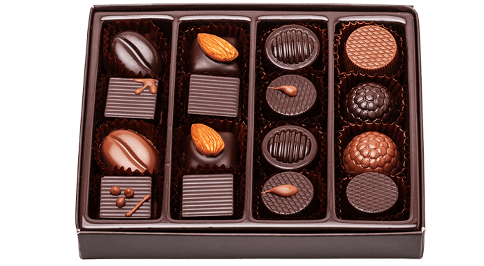LW Chocolatier Assorted Collection - Medium Box 16 Pieces