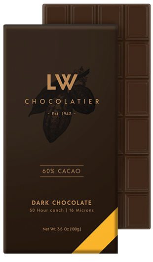 LW Chocolatier Dark Chocolate 60 % Cacao